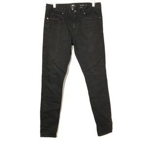 H&M black  skinny fit jeans size 30